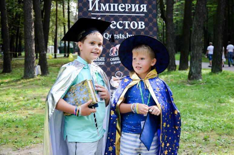 Детский квест «Турнир Волшебников»